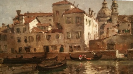 William Chase, Palast in Venedig
