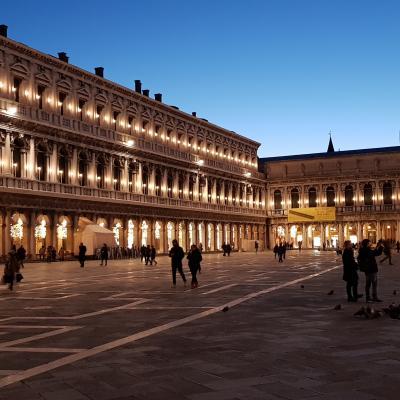Piazza San Marco con le Procuratie Nuove