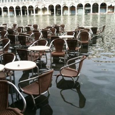 Führung Alltag in Venedig - Hochwasser auf dem Markusplatz