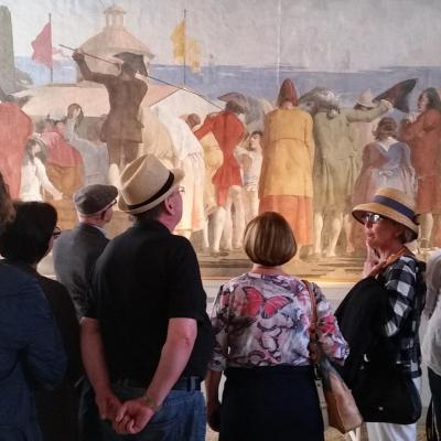 im Palast der Adelsfamilie Rezzonico