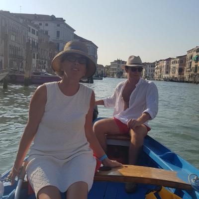 Fahrt mit der Sampierotta über den Canal Grande