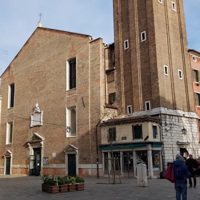 Fassade der Kirche SS. Apostoli