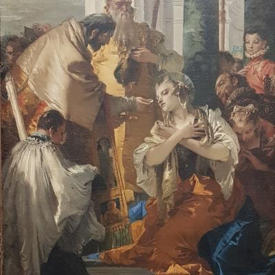 GD Tiepolo, die heilige Lucia