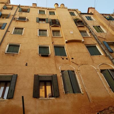 die hohen Häuser des Ghetto