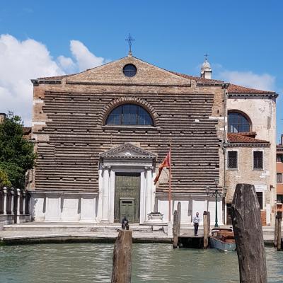 Fassade der Kirche San Marcuola
