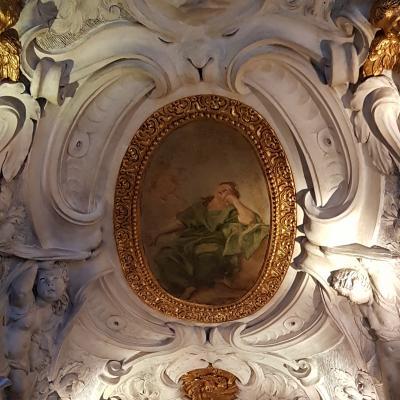 Treppenaufgang in der Scuola Grande dei Carmini