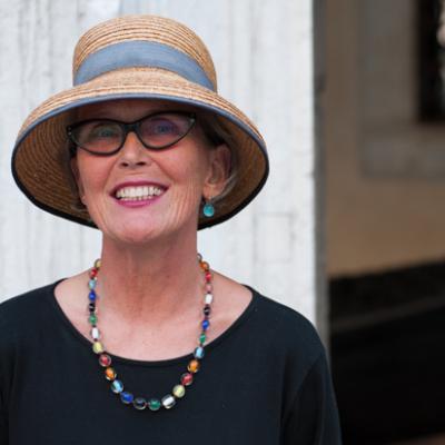 Stadtführerin Susanne Kunz