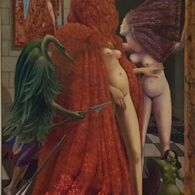 Einkleidung der Braut von Max Ernst