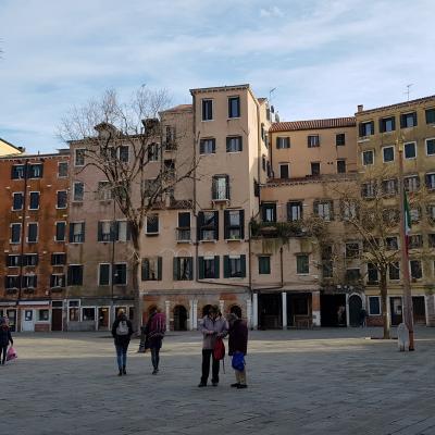 Ghetto Nuovo mit Campo