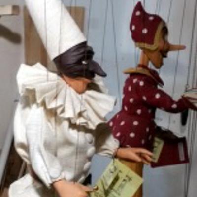 Führung Marionetten Pulcinella