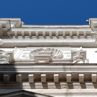 Detail Fassade Santa Maria Derelitti