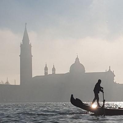 San Giorgio im Gegenlicht
