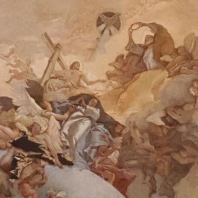 Deckengewölbe von Tiepolo in der Pietà