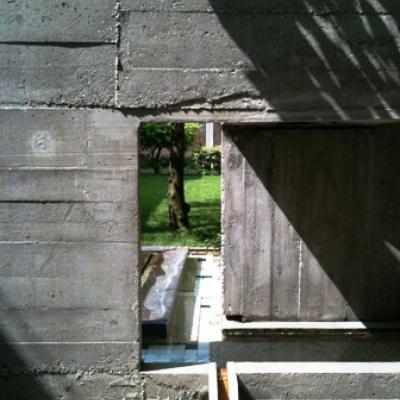 Blick in der Garten der Querini Stampalia