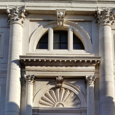 Fassadendetail S. Francesco