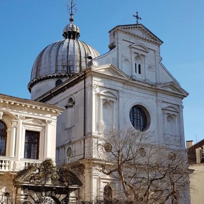 Scuola und Kirche San Giorgio degli Greci