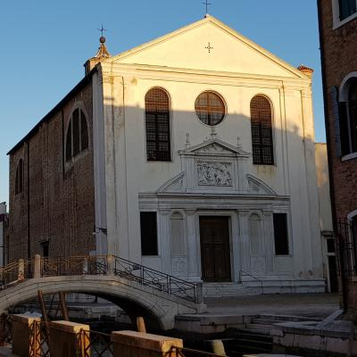 Fassade der Kirche San Giuseppe