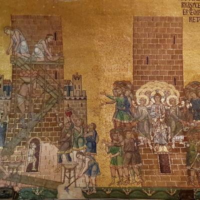 Baustelle im Mosaik