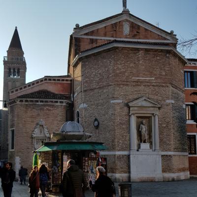 Apsis der Kirche San Polo