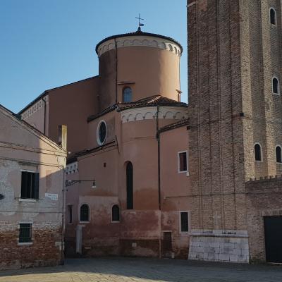 Apsis der Kirche San Sebastiano