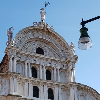 San Zaccaria Fassadendetail