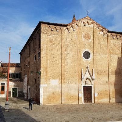 die Kirche Sant Alvise