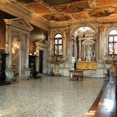 Führung durch die Scuola grande di Santa Maria del Carmini in Venedig - Kapitelsaal