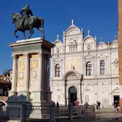 Fassade der Markusbruderschaft, Scuola Grande di San Marco