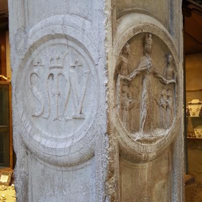 Logo der Bruderschaft Scuola Grande di Santa Maria del Valverde
