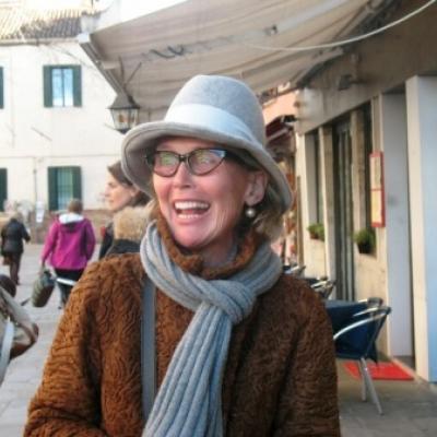 Die autorisierte Stadtführerin Susanne Dr. Kunz-Saponaro