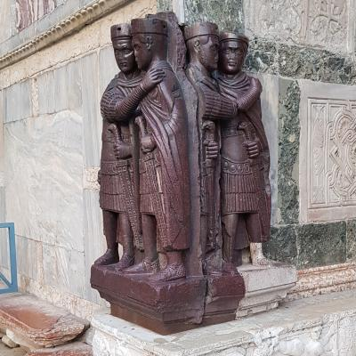die Tetrarchen an der Porta della Carta