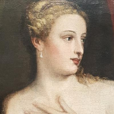una bellissima Venere dipinta da Tiziano