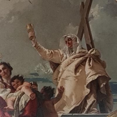 Giambattista Tiepolo, La Fede, Scuola Carmini