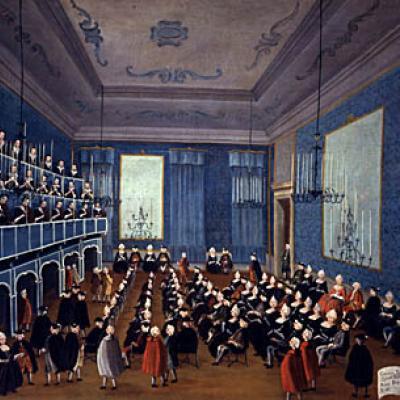 Gabriele Bella, La cantata delle putte delli ospedali, ca. 1720, Querini Stampalia