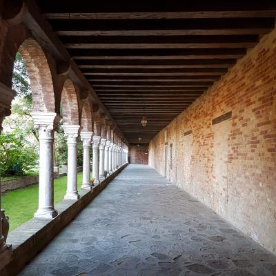 einer der Kreuzgänge von San Francesco