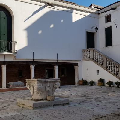 chiostro del monastero San Giovanni di Malta