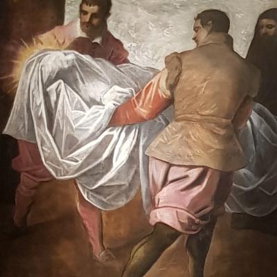 Domenico Tintoretto, Heimführung San Marco