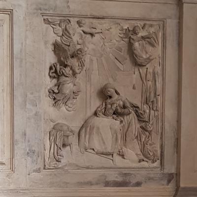 Giovanni Bonazza, Verkündigung an die Gottesmutter