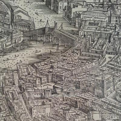de Barbari, pianta di Venezia 1500