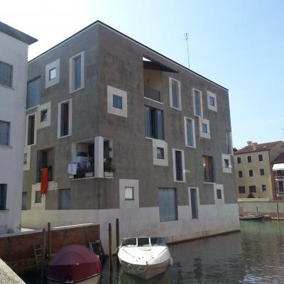 zeitgenössische Architektur auf der Giudecca - Junghans Gelände
