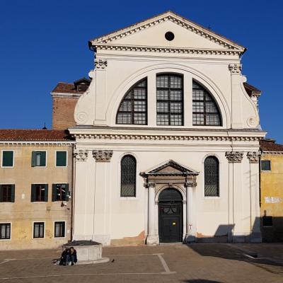 Fassade der Kirche San Trovaso