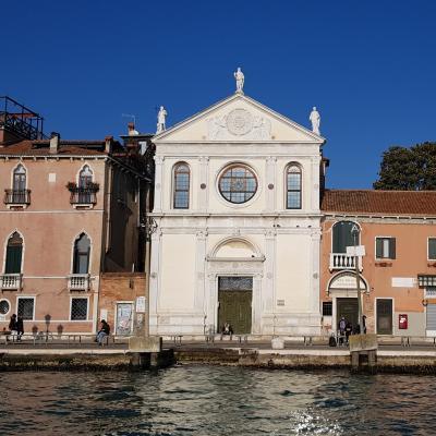 Fassade der Kirche Santa Maria della Visitazione