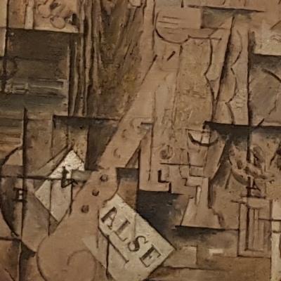 G. Braque, Walse, collezione Guggenheim