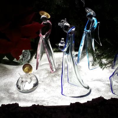 Krippe aus Glas auf Murano