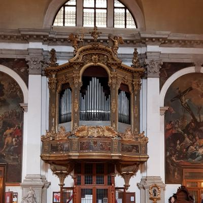 Callido Orgel in der Kirche San Moise