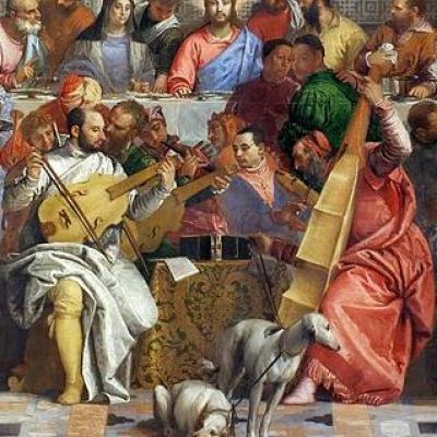 Paolo Vernoneses Gastmahl für das Kloster San Giorgio Maggiore ist heute nur in einer Kopie zu sehen