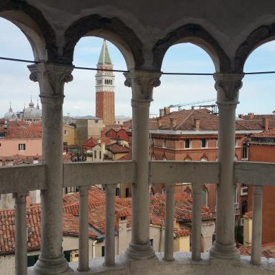 Blick von der Terrasse des Palastes Contarini Bovolo