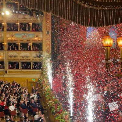 Sylvesterkonzert im Gran Teatro La Fenice 2020