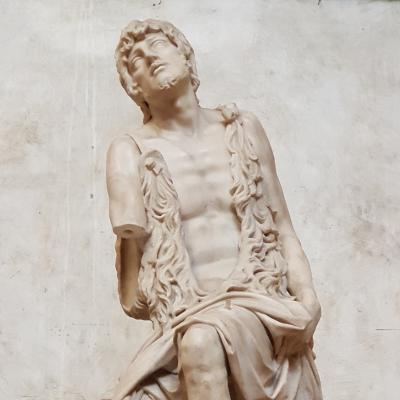 il meraviglioso Battista di J. Sansovino