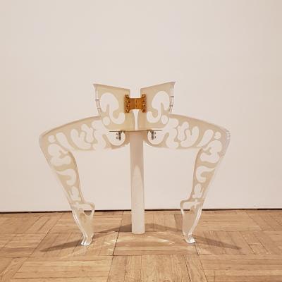 Anthea Hamilton, Leg Chair, 2011